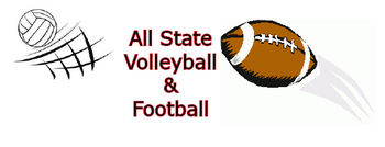All State Volleyball & Football image
